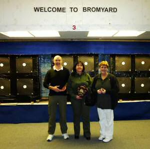 Alyson, Steve and Michelle at Bromyard