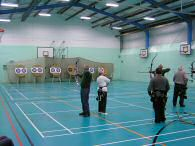 Indoor shooting at Waseley Hills School